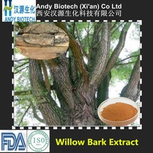 Pure Natural Hot Selling Salicin HPLC 25% White Willow Bark Extract