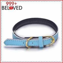 Comfortable and Soft Neoprene Padding Buckle Dog Collar hot sell rib dog collar led