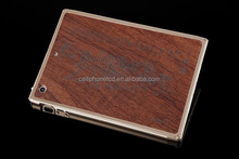 Durable Wood Back Case for iPad Mini 1 2 3