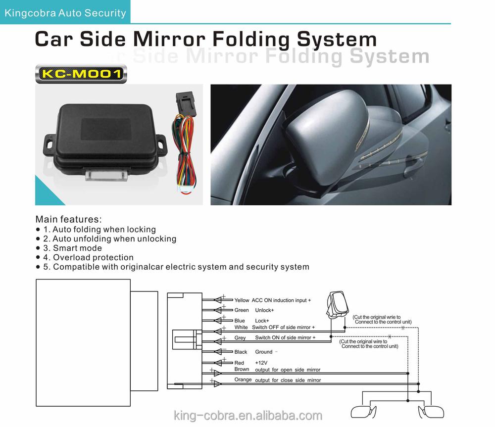 12v Oem Smart Power Folding Mirror For Any Car Make Buy