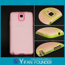 Alibaba wholesale tpu case for samsung galaxy note3 with plastic frame bumper