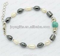 Magnetic Anklet locking stainless steel bracelet