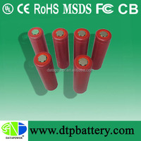 2000mah 18650 Battery Cylindrical lithium-ion battery For Electric tools