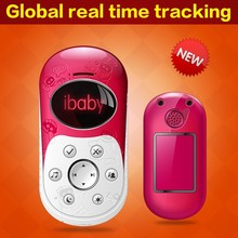 mini children gps tracker/Pink small 3.5 inch digital screen gps tracker phone with sos, geofence, voice monitor