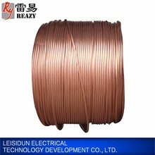 Corrosion resistant ground rod wire,copper clad steel strand wire coated copper wire