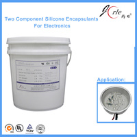 Repairable silicone electronic glue for Power Module