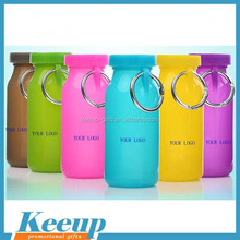 Food Grade Silicone Folding Water Bottle for Outdoor Sport folding coffee cup