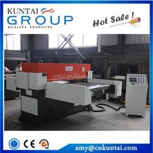 Kuntai xcpl3 serie doppelt- Seite automatischer zuführung präzise hydraulischen vier- Spalte schneidemaschine/Klick maschine