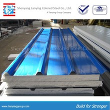 different models materials roof sandwich panel