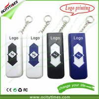 Free logo printing for USB lighter with flash drive/Electric Arc Lighter/rechargeable Cigarette Lighter USB for sale