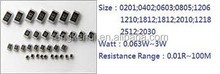 Resistor 3.00KOHM 1/8W 0.01% 1206 0603 SMT chip resistor