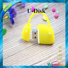 Hot Sale Free Sample lady bags usb flash drive for Promotional Gift