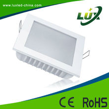 Placa LED cuadrada 10W 6500K Blanco frio