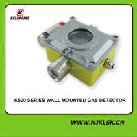 Hot Sale! wall mount t mining safety equipment 220V AC high sensitivity methane gas detector