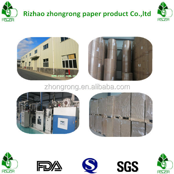 170g double side PE coated cup stock paper