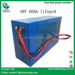 China Top manufacturer lifepo4 battery 48v 60ah