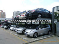 8 group 16 cars 2 level two post used carports for sale