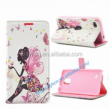 Beautiful Ballet Girls with Rhinestone Inlaid Flip +TPU inner Case Cover for iPhone 4/ 4s /5 /5S / 6/ 6 Plus