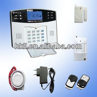 LCD Display&Keypad GSM Alarm System Wireless 433Mhz