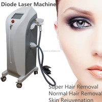 Diode laser beauty salon and laser clinic equipment 808nm diode laser for hair removal and skin rejuvenation 808
