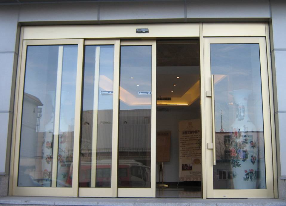 Super Quality Automatic Glass Sliding Door Buy Automatic Glass