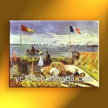 Famous artista monet reproducción monet 19 pintura al óleo clásica