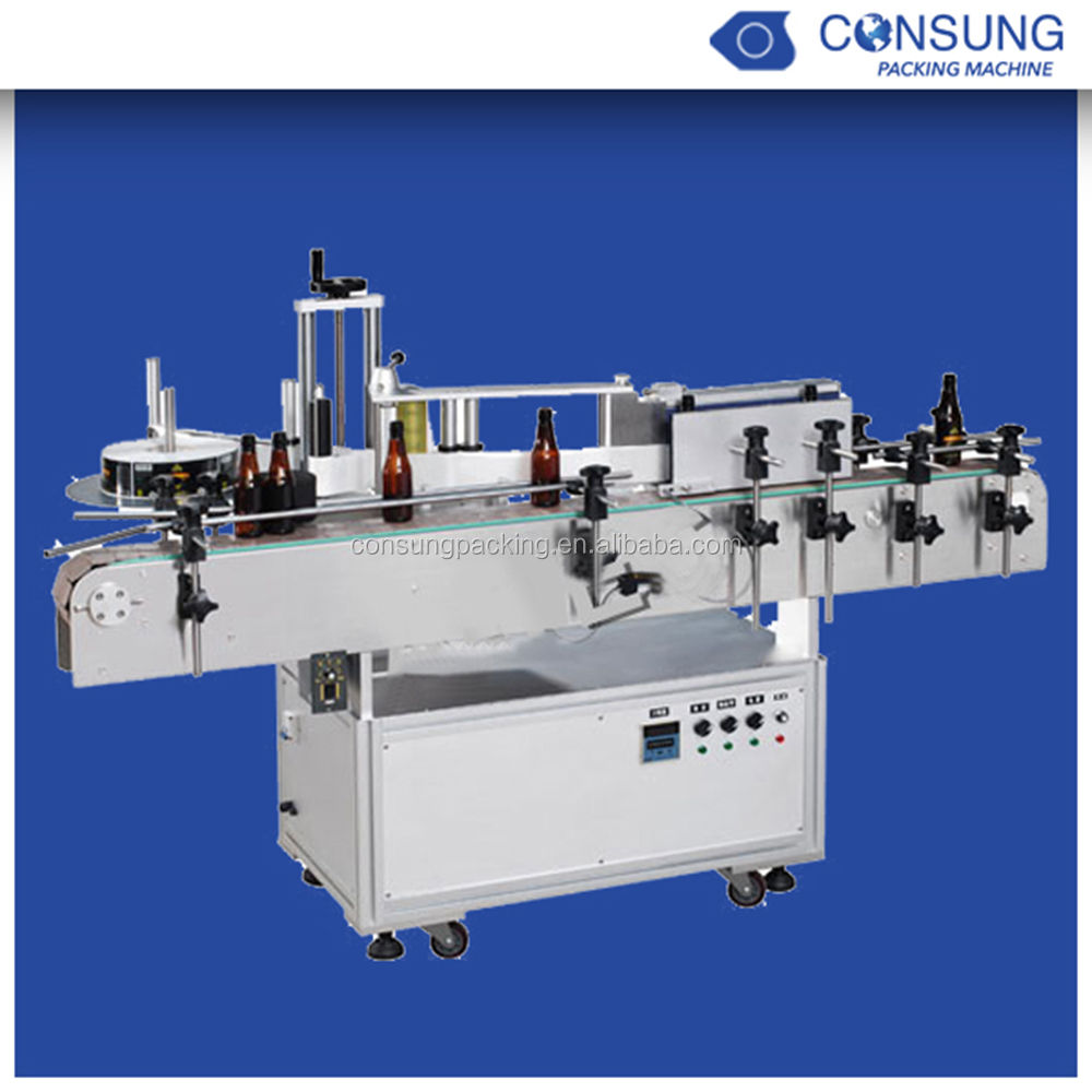 Automatic Label Applicator ~ Full automatic high speed round bottles label applicator