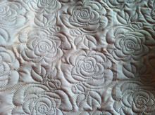 Ultrasonic Bedding Sets / Pin- sonic Quilt / Embossed Quilt Rolls