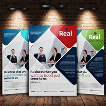 fashional and new promotional brochure sample