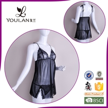 Made in China Mature Women Slim Ladies Adult Teddy Sexy Lingerie