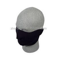Made in China Black Protecitive Half Ski Mask