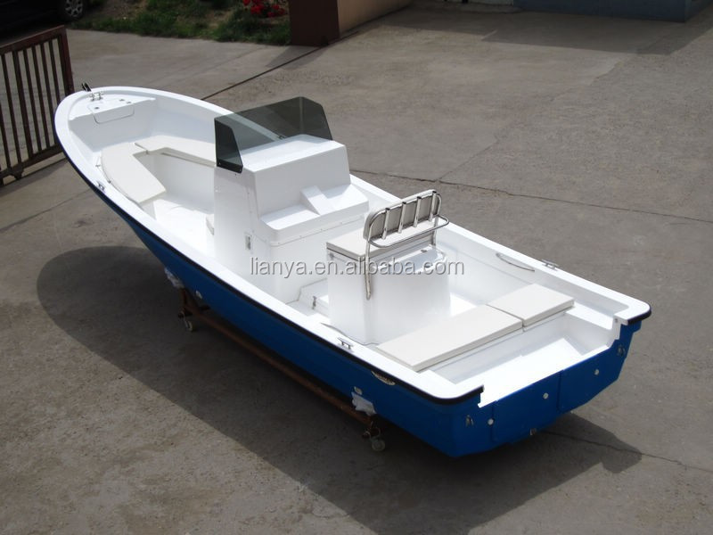 Liya 25ft China Fishing Boat Motor Boat Best Fiberglass