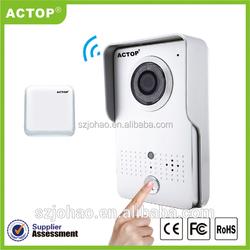 2015 actop wholesales wireless door phone unlock the door remotely