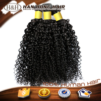 Human Hair cheap long curly virgin kinky hair weave cambodian virgin hair