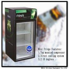 bar use table top fridge desktop freezer
