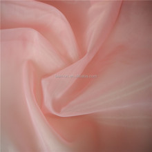 Popular pink plain dyed nylon tulle fabric for dresses