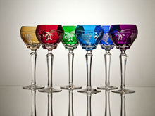 Roemer wine crystal glass