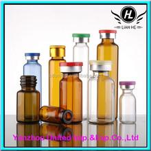 Whosale 1ml/2ml/5ml/6ml/10ml/15ml/20ml Clear vial With Lid