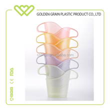 Colorful PP plastic coffee paper cup holder tray