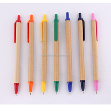 slim recycled paper tube ball pen