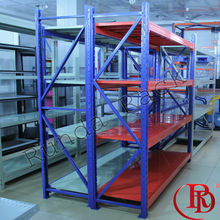 automatic storage metal hanger lean pipe rack system