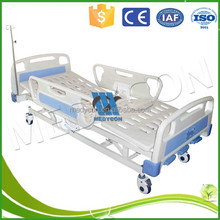 abs triple-crank bed with castor