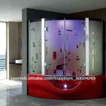 baño prefabricado precios ducha jet baño sauna ducha de vapor interior habitación con televisión 2013 negro g160