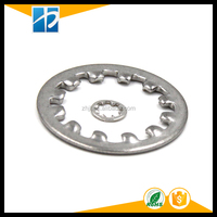 DIN 6797 Stainless Steel Internal Serrated Self Lock Locking Washers