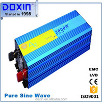 50Hz 12VDC solar 3000w inverter generator peak power 6000w high frequency