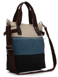 New products fashion canvas bags vintage woman bags messenger bags