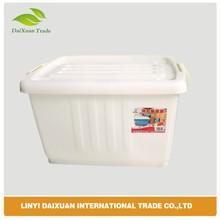 Rectangular Plastic Storage Box, Colorful Plastic Food Storage Container A001