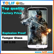 9H 2.5D Tempered Glass For LG G3 MINI D728 Beat LCD ,LCD screen protector for For LG G3 MINI D728 Beat
