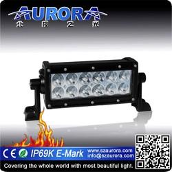 AURORA 6inch led light bar light hid led 4x4 road legal dune buggy
