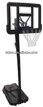 Basketball stand with break away ring,gymnasium basketball stand